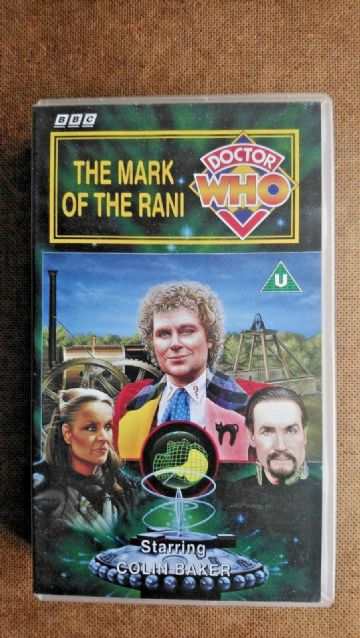 Doctor Who - The Mark Of The Rani (VHS, 1995) - Colin Baker